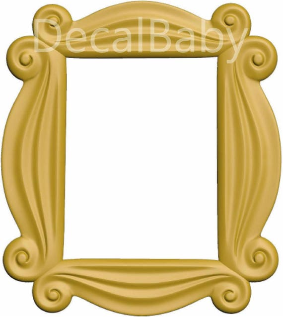 Friends TV Show Peephole Frame Wall Decal Sticker Friends