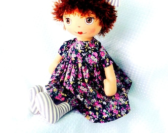 Handmade cloth,  doll, soft doll,  fabric doll,  handmade doll for girls,  toddlers doll, dressable soft doll