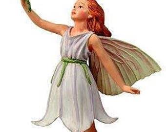 Miniature Dollhouse FAIRY GARDEN ~ Harebell Fairy ~ NEW