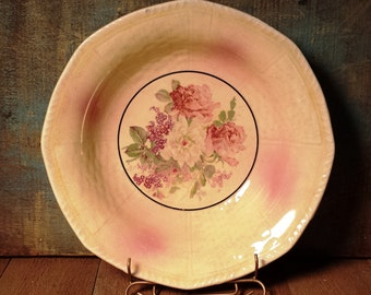 Vintage Royal Gold Thompson China Serving Bowl