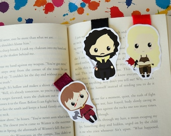 ON SALE Game of thrones magnetic bookmark Tyrion Jon Snow Khalessi