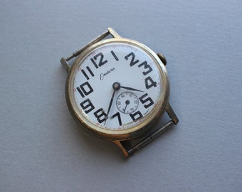 Vintage Endura Watch Movement And Case
