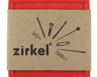 Zirkel Magnetic Pin Organizer - Red