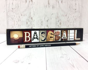 Baseball Sign - Baseball Coach Gift - Wood Sign - Baseball Mom Gift - Coach Gifts Baseball Gifts for Boys, Coaches, Gifts for Men, Boyfriend