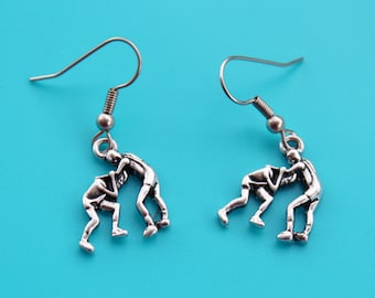WRESTLING EARRINGS,wrestling,wrestler,WWE,wrestling mom,1589