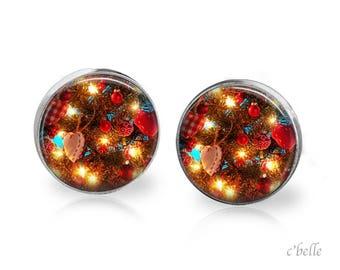 Earrings Christmastree Christmas-11