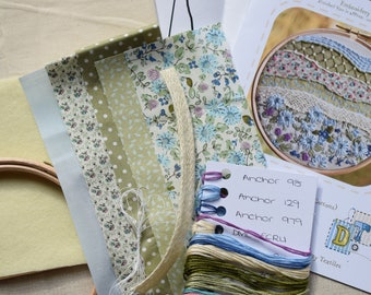 Spring #inthehoop Embroidery Kit