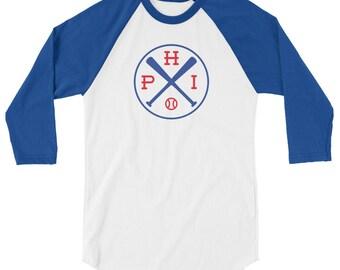 Philadelphia Baseball 3/4 Sleeve Raglan
