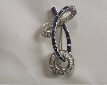 Signed Mazer Brother's  brooch