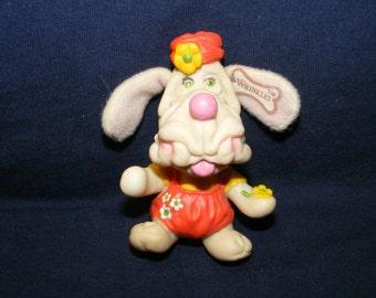 Wrinkles Finger Puppet, Finger Puppet, Puppy Dog Toy, Puppy Dog, Vintage Finger Puppet