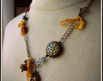 SALE Eclectic Adornment Necklace