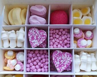 Pick n mix sweet boxes