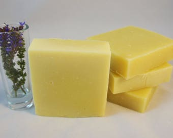 Lovely Lavender Natural Soap - 100% Vegan
