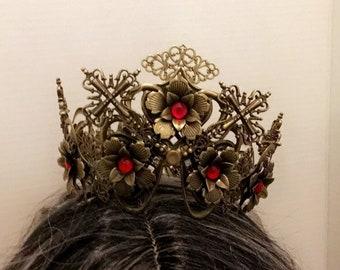 Brass crown