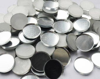 4cm 5cm Round Circle Acrylic Mirror  Tiles