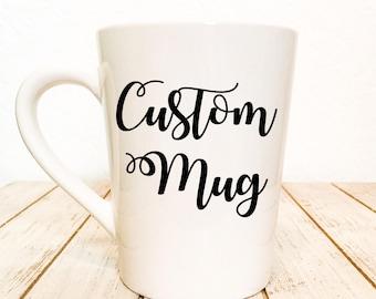 Design your own mug Etsy