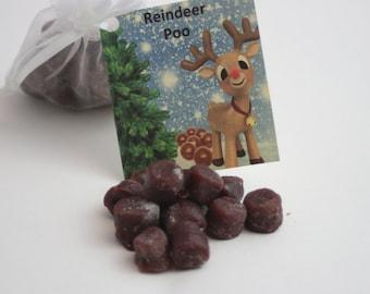 Reindeer Poop Candle Tarts, Holiday Tarts For Naughty List, Reindeer Poop Poem, Holiday Gag Gift,