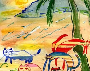 Tropical Cats