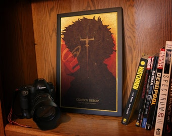 Cowboy Bebop Silhouette Posters (11 x 17 inch) NOW WITH EIN