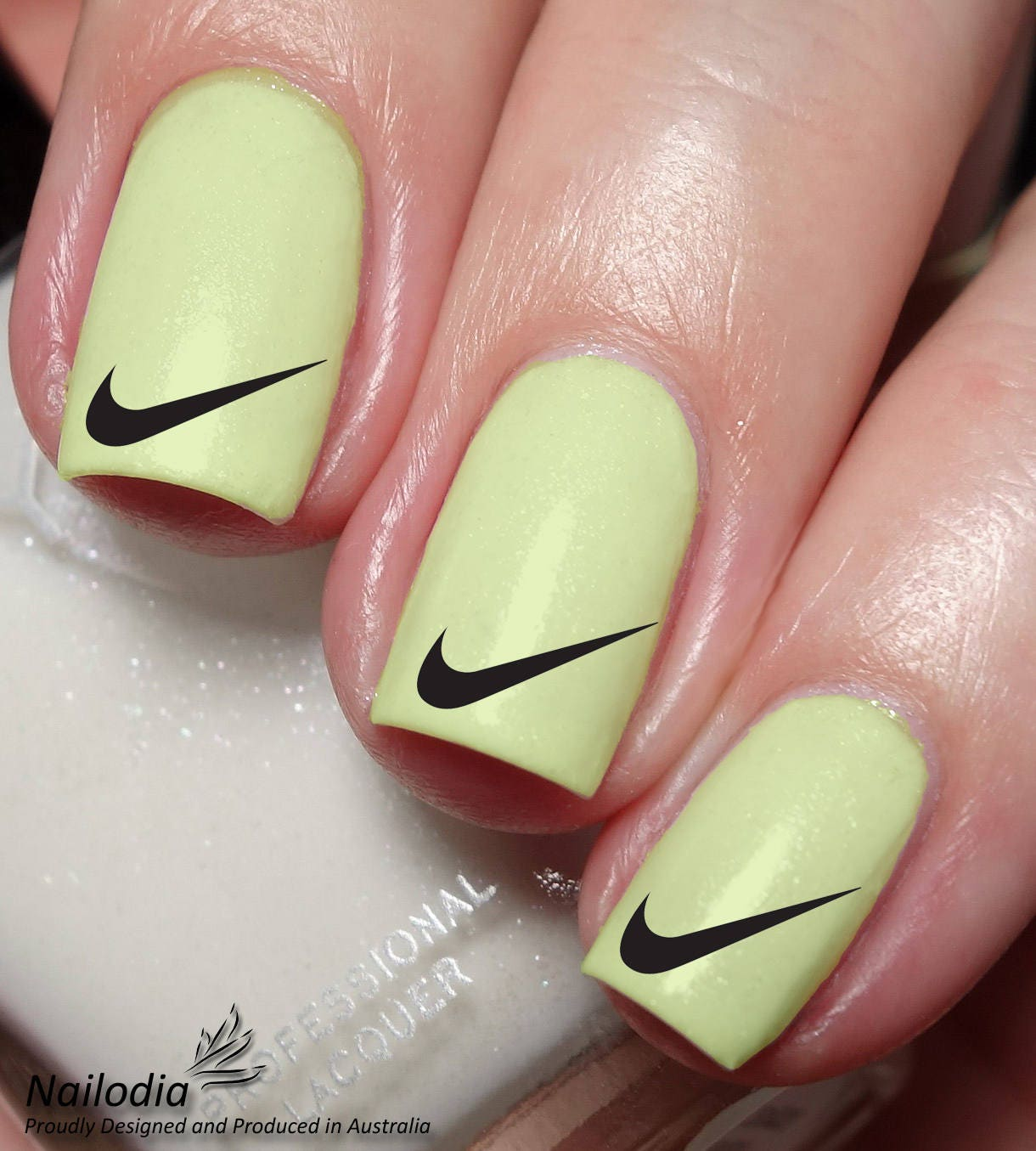 Nike Nail Art Sticker Water Transfer Decal wrap 142 from Nailodia on ...