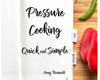 Pressure Cooking Quick and Simple Cookbook Download PDF, Recipes for Instant Pot, Ebook Cookbook