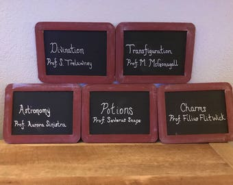 Chalkboard Table Numbers (Set of 12)