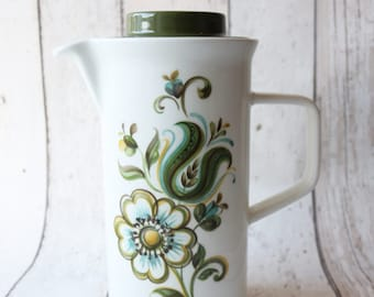 Pretty Johnson Bros 'LORETO' Pattern Coffee Pot