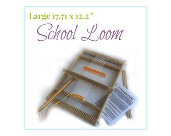 Weaving Loom Kit, School Loom, Large Lap Loom, Frame Loom, Children's Weaving Loom, Advanced Lap Loom, XXL Children's Loom, Waldorf Supply
