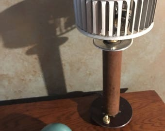 Fan Blade Table Accent Lamp