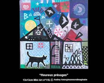 Happy omens, miniart 118 2018 MonMondimaginaire