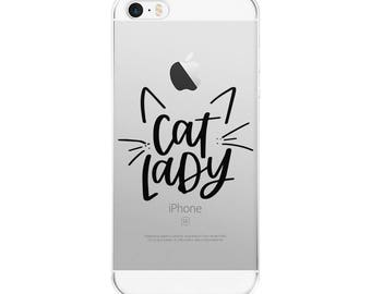 Crazy Cat Lady | Cat Lady iPhone Case | Cat Lady Gifts | Cat Lover | Crazy Cat Lady Gift | Cat Lady Gift | Handlettered | Phone Case
