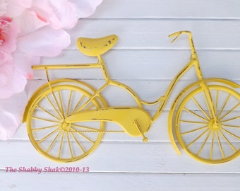 Bicycle Gifts,Bicycle Wall Art,Bicycle Wall Decor,Metal Bicycle Art,Metal Wall Decor,Bike Gift,Shabby Chic Decor,Nursery Wall Decor,Rustic
