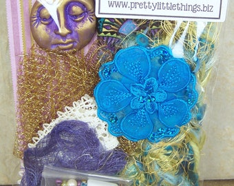 Spirit Art Doll Kit - Blue, Green & Purple