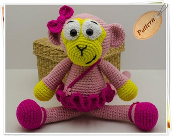 Amigurumi Monkey Patterns : Amigurumi sock monkey