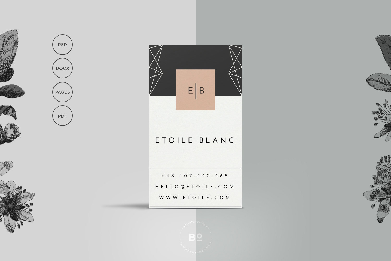 Fine Business Card Templates For Pages Motif - Business Card Ideas ...