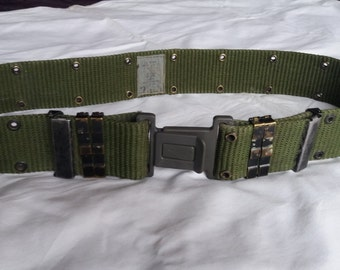 Vintage US Army Textile Belt