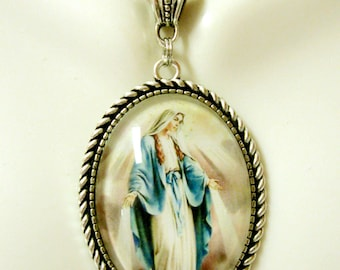 Miraculous Medal necklace - AP09-172