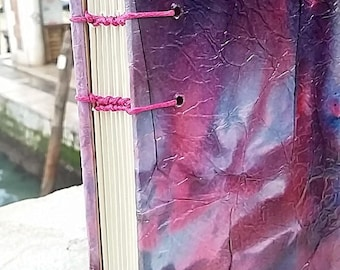 present for writers,handbound binding,writing journal,coptic journal,handbound journal,coptic binding,coptic stitch journal,made in venice