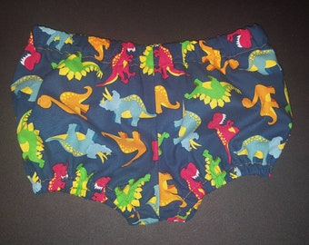New Handmade Baby Boy Colorful Dinosaurs Diaper Cover