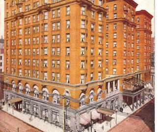 Vintage Postcard....Missouri, St. Louis, Planters Hotel....Used, 1910..no. MO0005