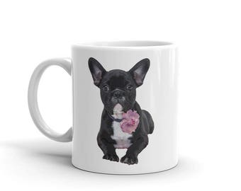 Mug / Graphic Mug / French Bulldog / Cute Mug / Frenchie / Bull Dog Mug / Gift Mug / Christmas Gift / Dog Mug / Novelty Gift Mug / Puppy Mug