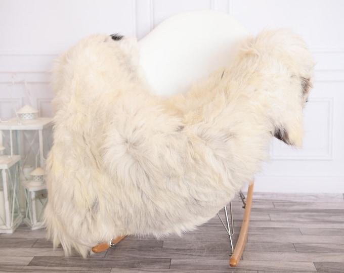 Organic Sheepskin Rug, Real Sheepskin Rug, Gute Sheepskin,Ivory Sheepskin Rug #GUTEFEB16