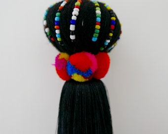 Big Pompon Black