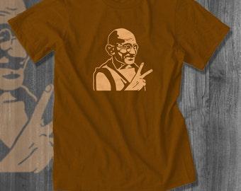 Gandhi Peace T-Shirt| Free Shipping