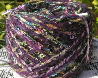 Designer Yarn Cake--Colorway Night Galaxy 020