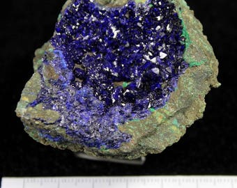 80g Extreme Sparkling Blue Azurite from Liufengshan Anhui China CM692755