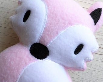 Fox Stuffed Animal/Fox Plush Toy/Baby Safe Fox Toy/Kawaii/Stuffed Foxes/Rattle Plushie/Stuffed Fox Animal/Comfort Toy/Woodland Nursery Decor