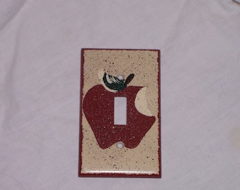 Apple light switch cover FREE SHIPPING