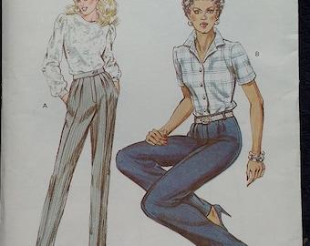Kwik Sew Misses Pants Pattern 1323