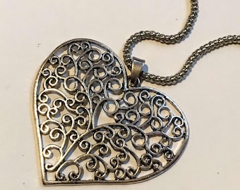 Heart and chain